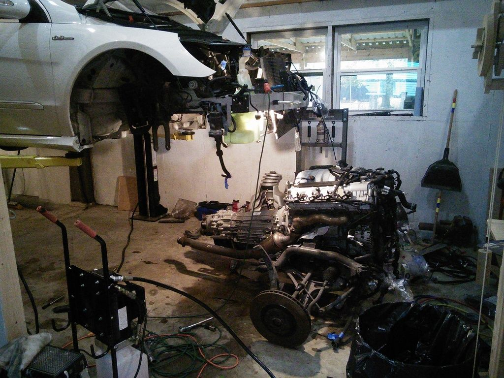 This Mercedes R63 Amg Owner Is Rebuilding His Engine To Avoid A V12 Wiring Harness Repairing Your 57000 Repair