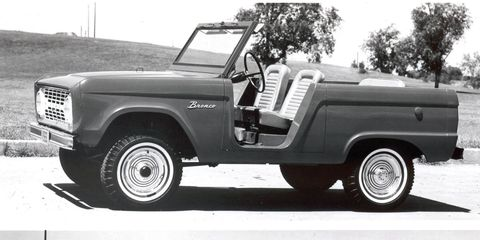 New Ford Bronco 2020 Ford Bronco Will Have Removable Convertible Roof