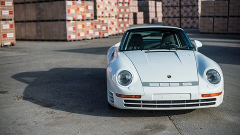 One Of Just 29 Porsche 959 Sports Ever Built Is Going To Auction