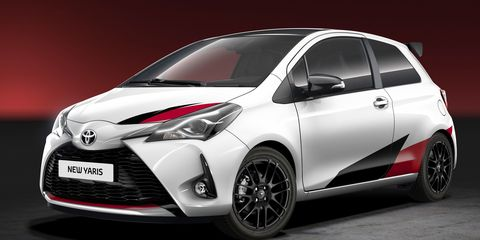 After Teasing It For A While Toyota Finally Announced Plans To Build Go Fast Version Of The Yaris Hatchback At Time Announcement