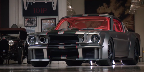 Two Turbos And A Supercharger Turn This 1965 Mustang Into A 1000 Hp