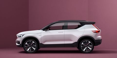 (Update: No We Won't) We'll See the Production Volvo XC40 in China in April