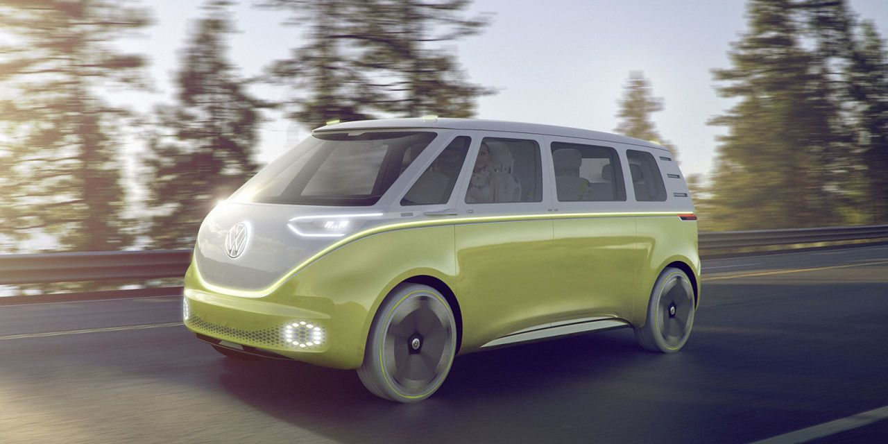 Volkswagen Might Actually Build an Electric Microbus