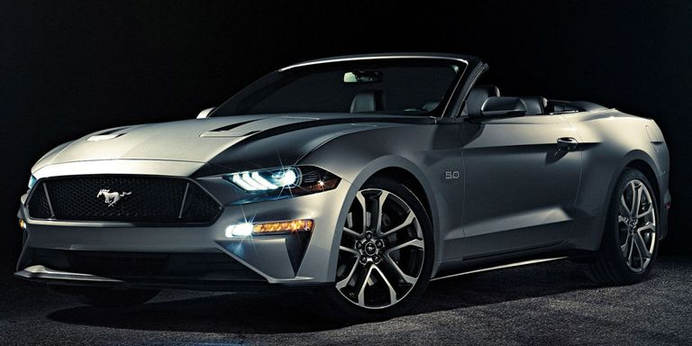 Ford Showed Off The Lightly Restyled 2018 Mustang Hardtop Last Week But Something Was Missing Roofless Fear Not Convertible