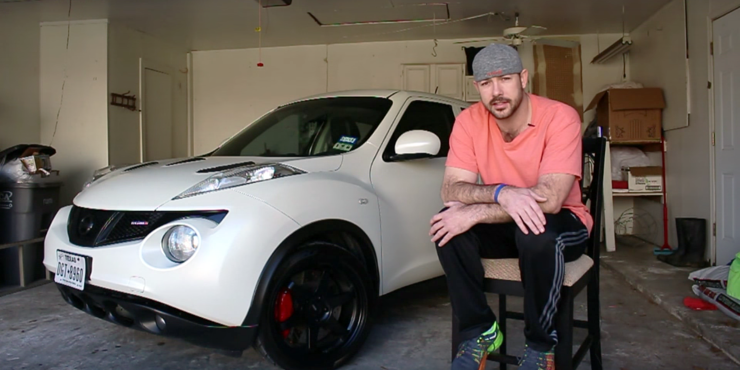 this guy is building a 500-horsepower nissan juke with a cvt