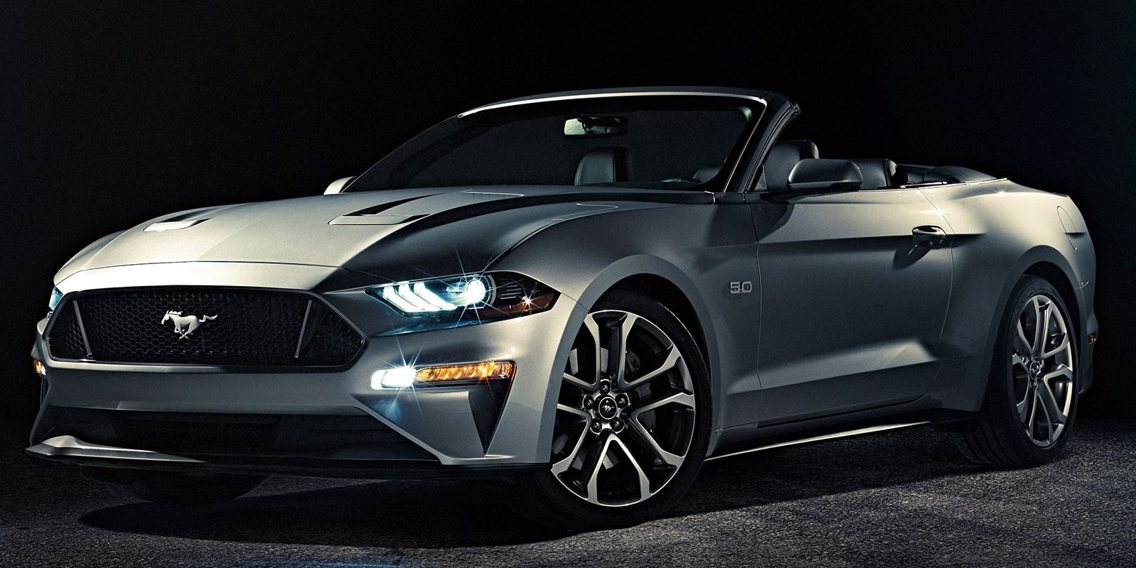 Yep theres a new 2018 ford mustang convertible now