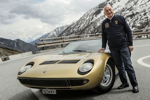 A Father of the Lamborghini Miura Has Died