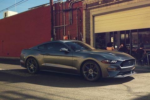 New Ford Mustang V8 GT with Performance Package in Magnetic