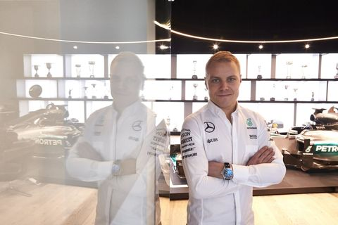 Valtteri Bottas at Mercedes F1
