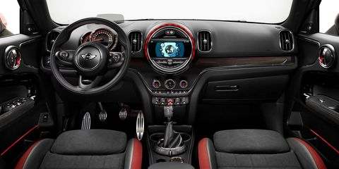 In Addition To A More Ful Engine Jcw Ers Also Get Sport Tuned Suspension Brembo Brakes Upgraded Seats And 18 Inch Wheels