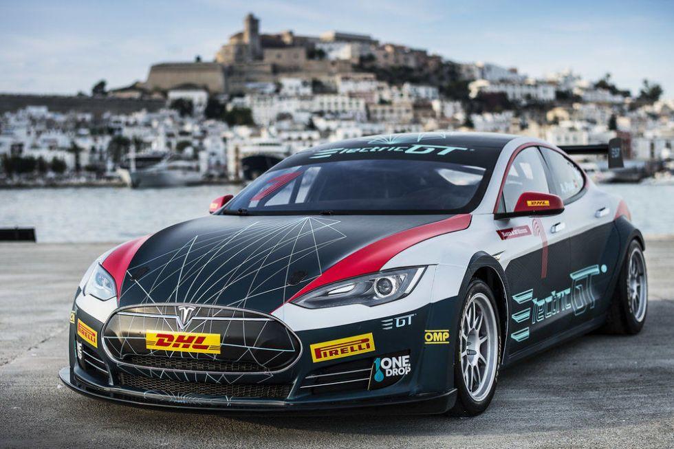 Tesla race car
