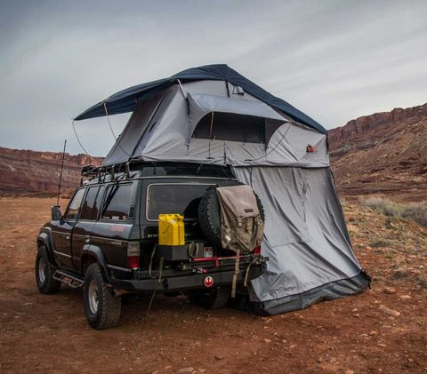 "<p> Since overlanders typically camp out most nights, a good shelter is a must. The best tents for this are rooftop models, which are designed to connect to the top of a vehicle. They are usually very comfortable and spacious, easy to set up and take down, and have built-in mattresses too. Additionally, many campers appreciate the sense of safety and security they get by sleeping off the ground. <a href=""http://tepuitents.com/"">Tepui</a> makes some of the best rooftop shelters built specifically for overlanding, with prices varying based on size and type of vehicle.<span class=""redactor-invisible-space"" data-verified=""redactor"" data-redactor-tag=""span"" data-redactor-class=""redactor-invisible-space""></span></p>"