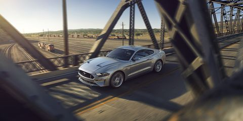 New Ford Mustang V8 GT with Performance Package in Ingot Silver