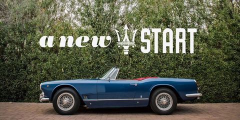 This 1960 Maserati 3500 GT Spyder Vignale Is a Rolling Work of Art