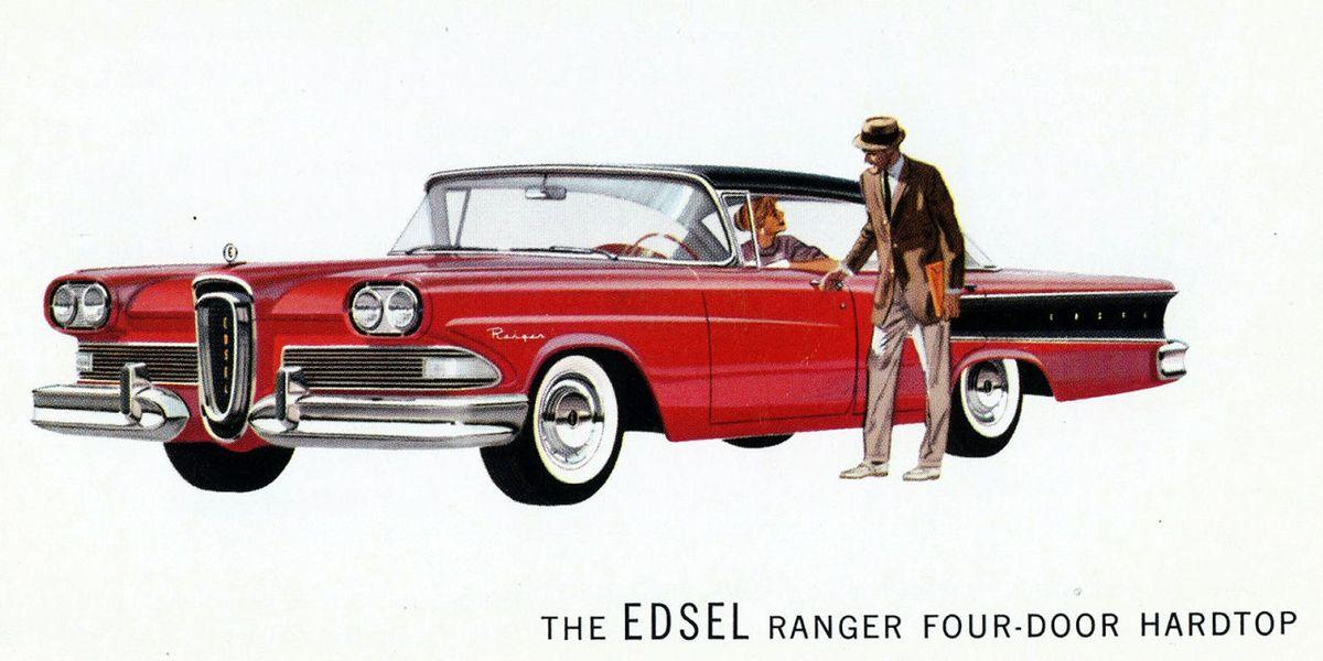 Edsel History Why The Ford Edsel Failed
