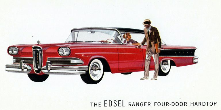 Edsel History – Why The Ford Edsel Failed