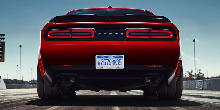 Car Auction Apps >> The 2018 Dodge Challenger SRT Demon Wears 315-Width Drag Radials Front and Rear