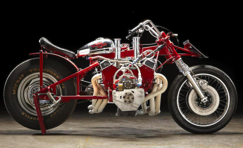 This World Record Motorcycle Is a V8 on Wheels, And It's For Sale