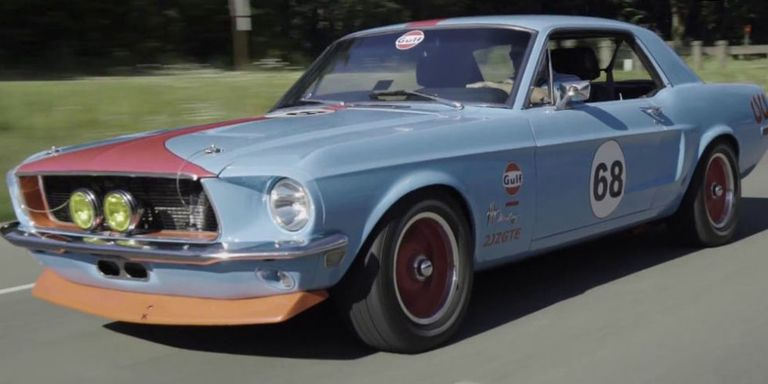 2jz swapped ford mustang 1968 mustang with toyota supra power youtubeegarage sciox Gallery