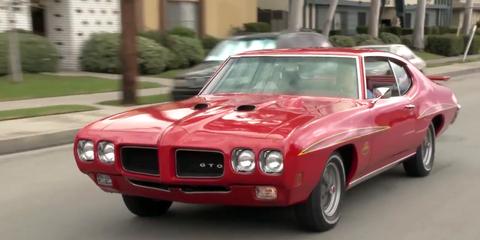Motor vehicle, Vehicle, Automotive design, Land vehicle, Hood, Automotive exterior, Car, Red, Pink, Classic car,