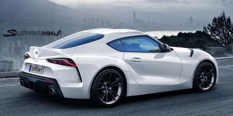 Toyota Supra 2018 >> 2018 Toyota Supra Fan Concept What We Hope The New Toyota Supra