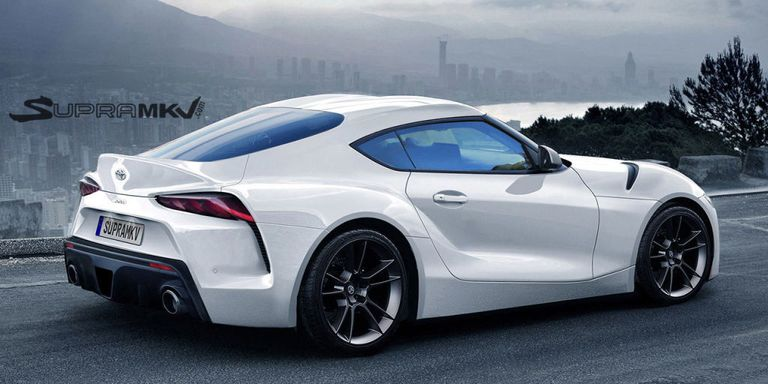Toyota Supra Concept 2017 >> 2018 Toyota Supra Fan Concept What We Hope The New Toyota Supra