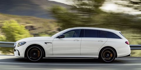 The 2018 Mercedes Amg E63 S Wagon Is 603 Hp Family Hauler Dreams Are Made Of