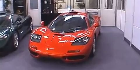 Picking Up a Brand-New McLaren F1 Was An Incredible Experience