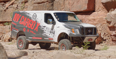 This Cummins-Powered Nissan 4x4 Van Is the Ultimate Delivery Vehicle