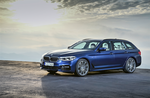 Here S The New Bmw 5 Series Wagon