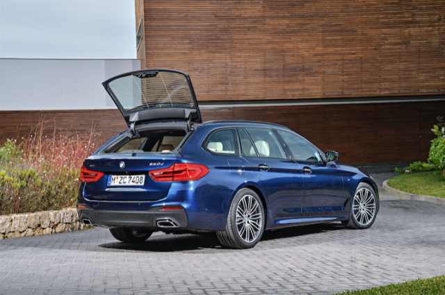 here 39 s the new bmw 5 series wagon. Black Bedroom Furniture Sets. Home Design Ideas