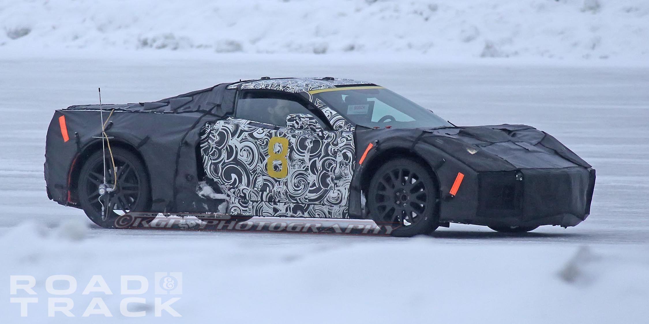 New Corvette Mid Engine 2018