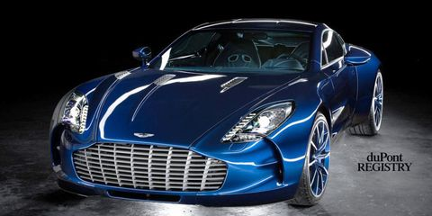 Extremely Rare Aston Martin One For Sale For Unknown Millions Of - Aston martin 1 77 price