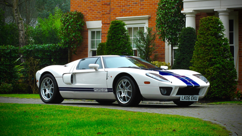 Jenson Button's Ford GT