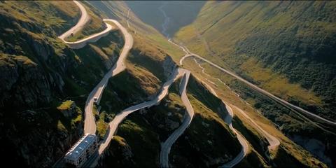 Switzerland's Furka Pass Is Driving Heaven