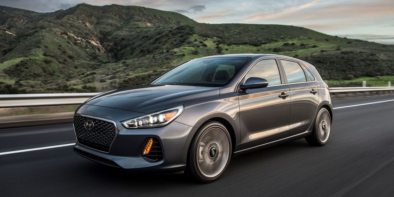 the 2018 hyundai elantra gt sport is a 201 hp nurburgring tuned rh roadandtrack com