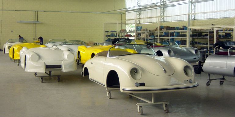 You Can Buy an Entire Porsche Replica Factory on eBay Right Now