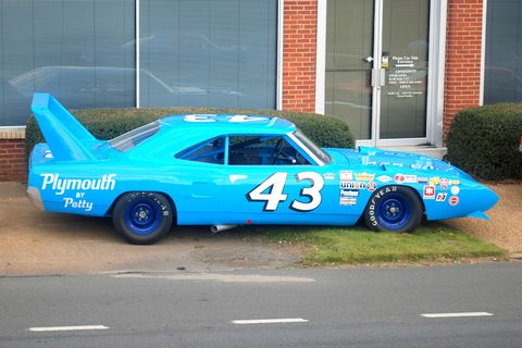 the secret story of richard petty s long lost plymouth superbird