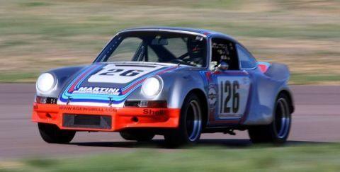 Porsche 911 Mary Stuart RSR tribute