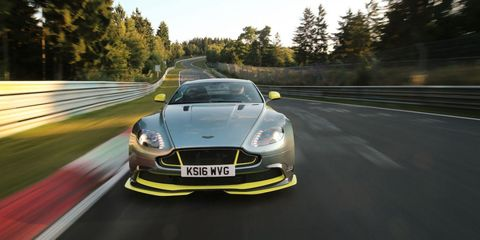 Watch The Aston Martin Vantage Gt8 Attack The Nurburgring