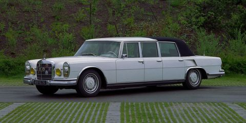 Mercedes-Benz Used to Make Classier Landaulets Than the