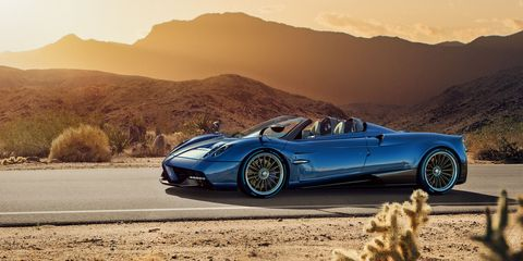Here's the 764-Horsepower Pagani Huayra Roadster