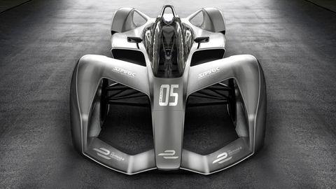 2018 Formula E render Spark Racing