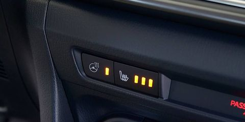<p>One school of thought holds that the quickest way to get warm in a car is by activating the heated seats. And you don't have to be in Maine: Even southern climes experience occasional frost or endure few deeply chilly periods, and it's a comfort to have that warm chair beneath you. It isn't necessary to leave the seat heaters on for long. But it saves you the shock of a surface that's more than 40-degrees colder than your body.</p>