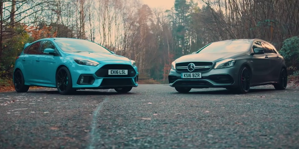 A Factory-Tuned Ford Focus RS Makes a Mercedes-AMG A45 Feel Clinical