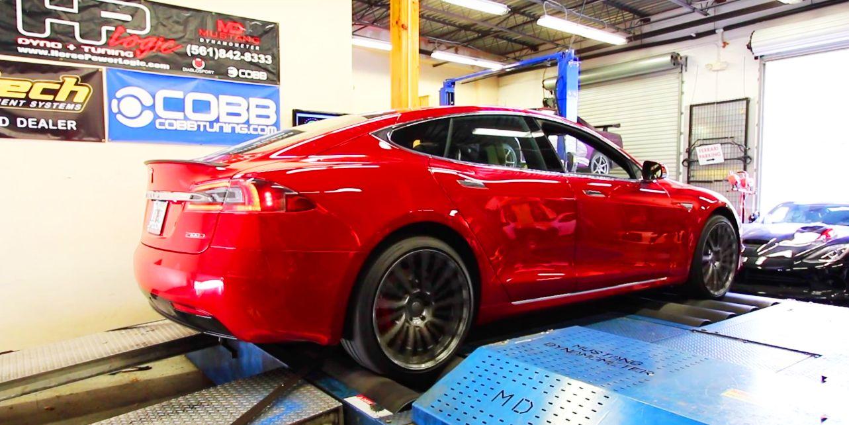 Tesla Model S P100d Dyno Ludicrous Mode Horsepower And Torque