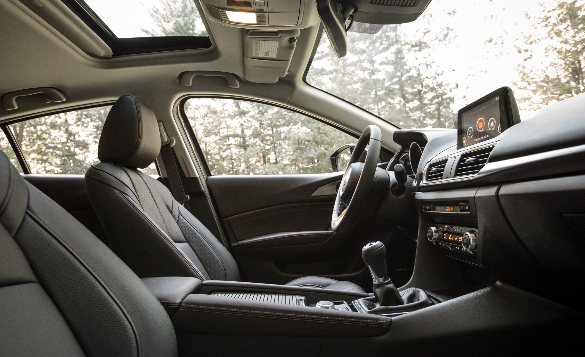 Mazda3 Interior Photos Best Car Interior Available for Under 30000