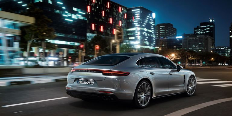 Ready To Have Your Hybrid Sedan Prejudices N Right Out Earholes Feast Eyes On The 2018 Porsche Panamera Turbo S E