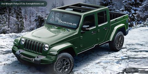 Jeep Wrangler Pickup >> Now Jeep Says The Wrangler Pickup Will Arrive In Late 2019