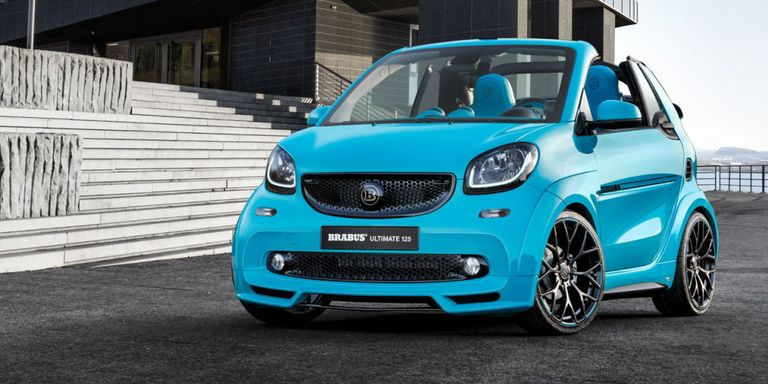 Throw Away Everything Here S The New 123 Hp Smart Brabus